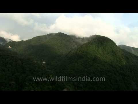 Misty hills of Mussoorie