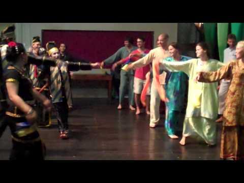 Dancing at MESCOT, Sabah Malaysia Borneo
