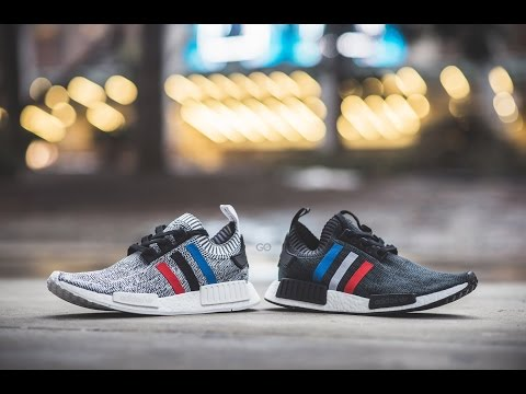 "Review & On-Feet: Adidas NMD R1 Primeknit ""Tri-Color Pack"""