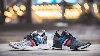 """Review & On-Feet: Adidas NMD R1 Primeknit """"Tri-Color Pack"""""""
