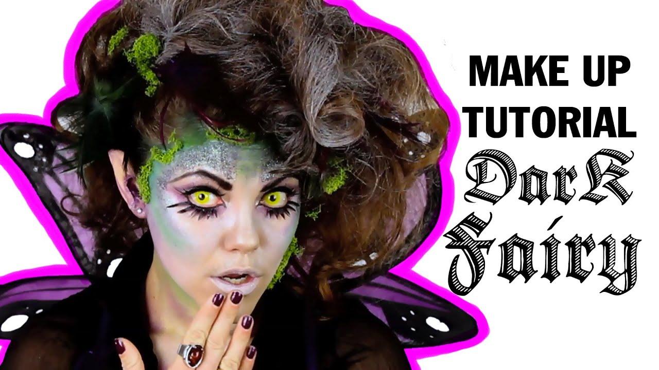 Dark Fairy Makeup Tutorial, ThreadBanger - YouTube