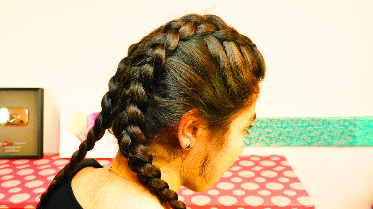Boxer Braids Tutorial Deutsch Lange Haare Flechten Long Hair