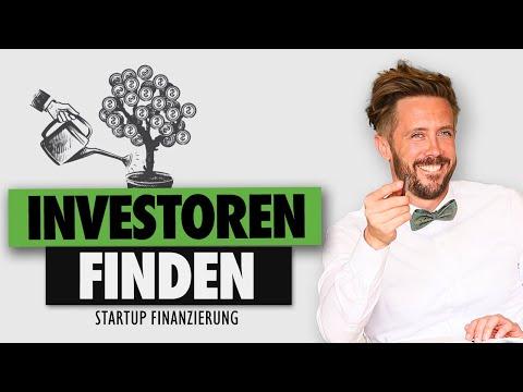 Startup Finanzierung: Investoren