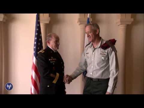 Lt. Gen. Benny Gantz Meets With Gen. Martin Dempsey