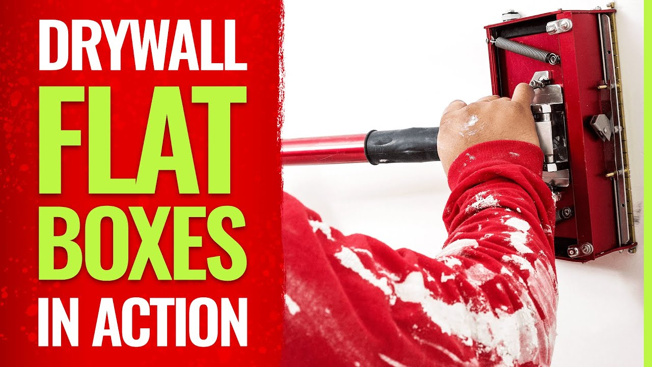 Level 5 Drywall Tools - Flat Boxes