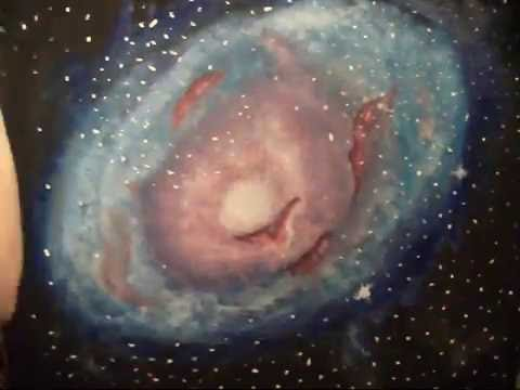 Galaxy painting timelapse youtube for How to paint galaxy