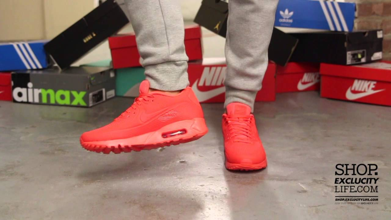 Nike Air Max 90 Ultra Moire On Feet