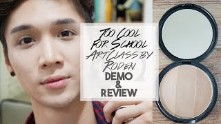 Too Cool For School Artclass by Rodin Contour Palette DEMO + REVIEW:  - Edward Avila