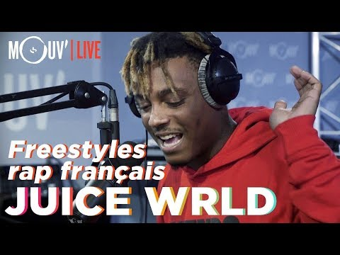 Youtube: Juice WRLD freestyle sur du Niska, NTM, 113, Dadju, Ninho… / freestyles on french rap songs