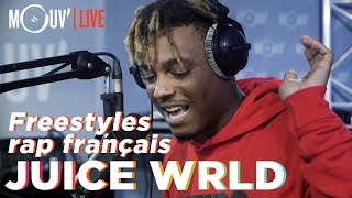 Juice WRLD freestyle sur du Niska, NTM, 113, Dadju, Ninho... / freestyles on french rap beats