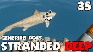 """Stranded Deep Gameplay Ep 35 - """"The NorthEast Water Railroad!!!"""""""