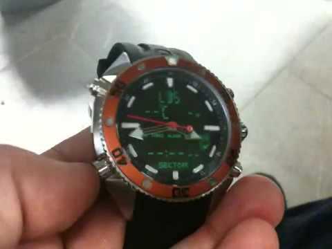 Il mio nuovo orologio profondimetro sector dive master - Sector dive master ...