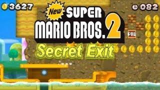 New Super Mario Bros. 2 - New Super Mario Bros. 2 Coin Rush Mode 1. DLC Gold Rush Pack (SECRET EXIT)