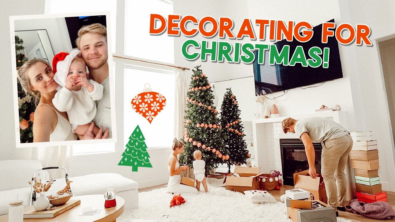 decorating for christmas + going on a date! | vlogmas day 1 - download from YouTube for free