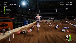 Monster Energy Supercross - Glendale (University of Phoenix Stadium) - Gameplay (PC HD) [1080p60FPS]