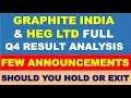 Graphite India & Heg Ltd latest result analysis   Multibagger stocks 2019 india   shares to buy now