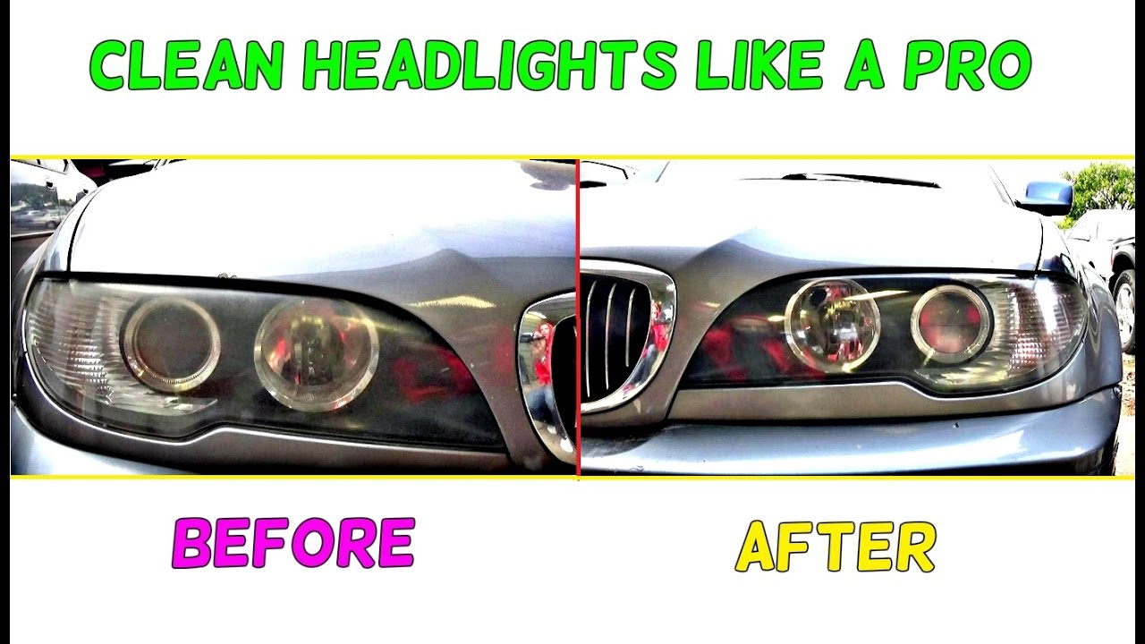 bmw e46 how to make headlights clear like new bmw e46 youtube. Black Bedroom Furniture Sets. Home Design Ideas