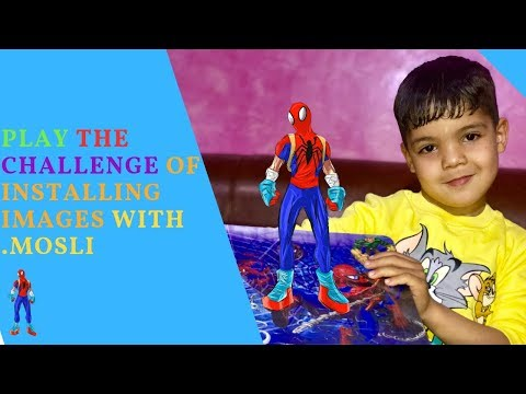 Play Paper Games spiderman with mosli