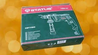 Ударная дрель  Status DP750. Обзор, тест и применение.