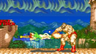 Super Street Fighter II Turbo - Revival - Super Moves - GBA