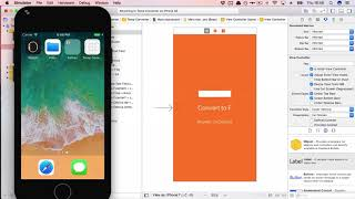 Code a Temperature Converter App for iPhone - Beginners