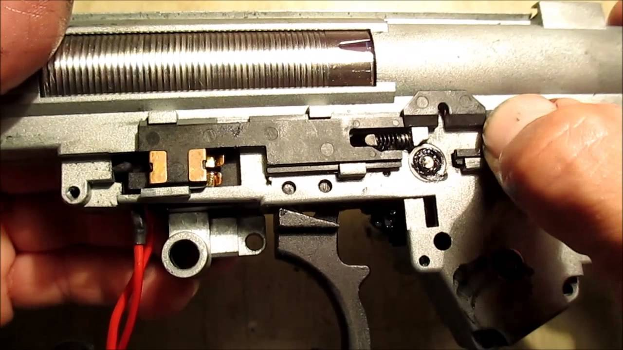 KWA G36 Upgrade and Repair Using Owner's Selected Parts - Part TWO (2)