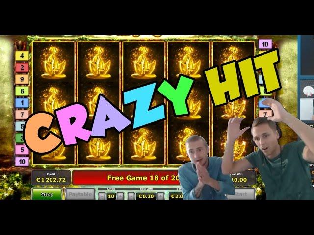 Online Slot - Fairy Queen Big Win and bonus round (Casino Slots) huge win