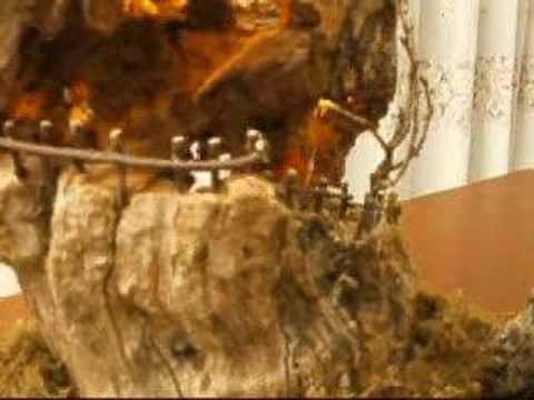 Presepe in tronco di sughero youtube - Come fare un presepe in casa ...