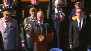 Путин на 68-й годовщины Победы в Великой Отечественной войне