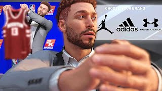 NEW TEAM REVEALED! WE GOT DRAFTED! ENDORSEMENT DECISION! - NBA 2K20 MyCAREER #3