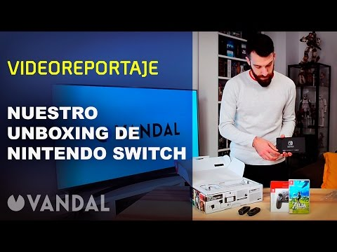 Unboxing ESPAÑOL Nintendo SWITCH
