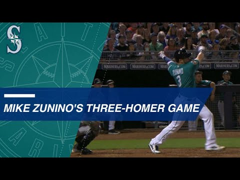 Mike Zunino crushes three homers for five RBIs