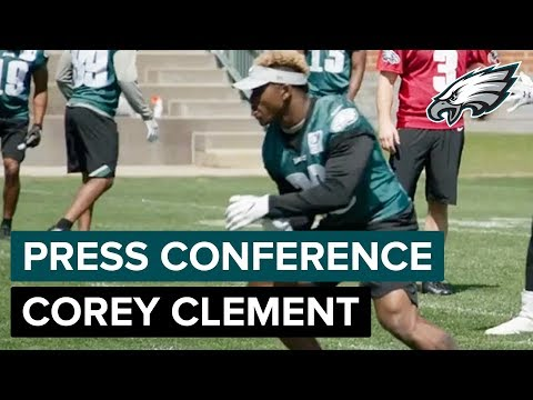 Corey Clement on Amazing Support from Philly Fans After Super Bowl Win | Eagles Press Conference