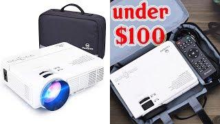 5 Best HD Projectors Under $100 - Top Budget Portable Projectors To Buy Under $100