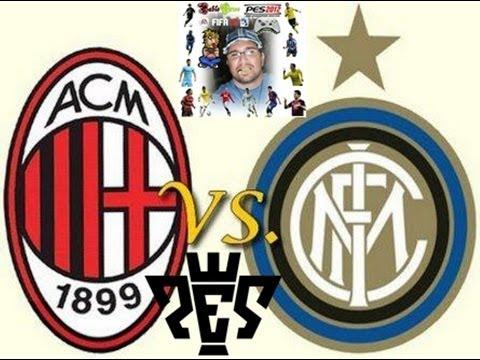 MILAN vs. INTERNAZIONALE - GAMEPLAY PES 2013