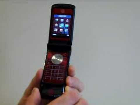 Product (RED) Motorola KRZR K1