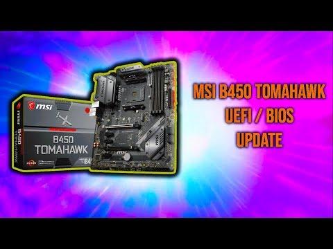 How Tough Can It Be? MSI B450 Tomahawk - BIOS Update
