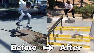 How To Get Better At Skateboarding!