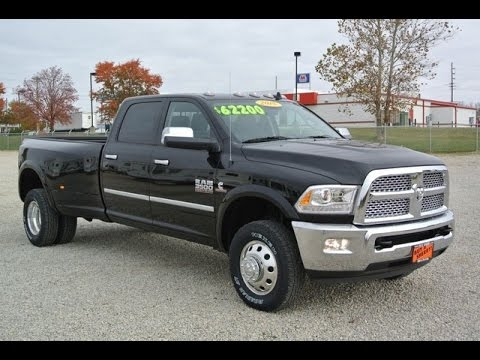 2015 ram 3500 laramie cummins dually for sale dayton troy piqua sidney ohio 27181t youtube. Black Bedroom Furniture Sets. Home Design Ideas
