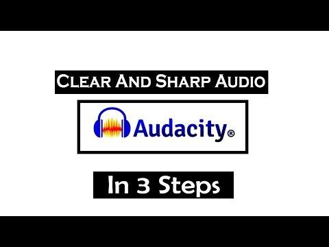 How To Get Crisp Clean Audio In Audacity With 3 SIMPLE Tricks   Audacity Tutorial 2019