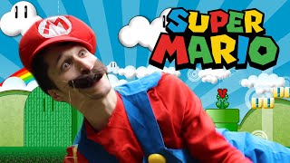 Super Mario Bros In Real Life (A day in the life of Mario and Luigi)