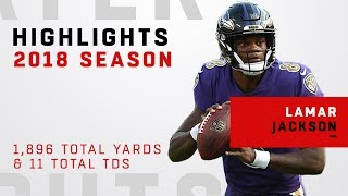 Lamar Jackson FULL Season Highlights in 2018!