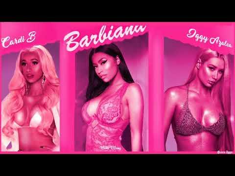 Nicki Minaj Iggy Azalea & Cardi B - Barbiana Thotiana  REMIX