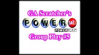 PowerBall Group Play #5 Ticket Verification...Drawing tonight 8/23/2017