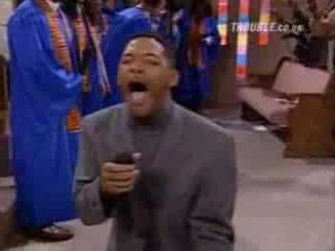 Fresh Prince Of Bel Air [Will At Church]