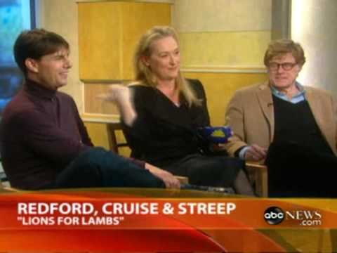 Meryl Streep - GMA Interview - Lions For Lambs