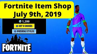 Item Shop Fortnite Today | SOCCER SKINS AND PLAGUE SKIN | Live July 9th 2019