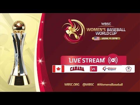 Canada v Chinese Taipei - Super Round - Women's Baseball World Cup 2018