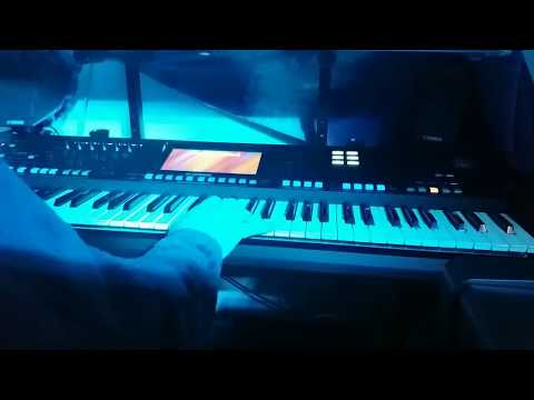THE PANISH NIGHT IS OVER - GENOS - YAMAHA - ACCORDEON - CLAVIER - MUSIQUE - MUSETTE