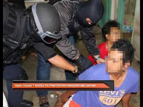 PDRM tahan 7 lelaki disyaki anggota Abu Sayyaf